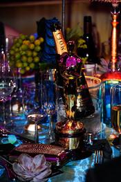 Mesa de lujo para la cena Governor's Ball post Oscars 2011