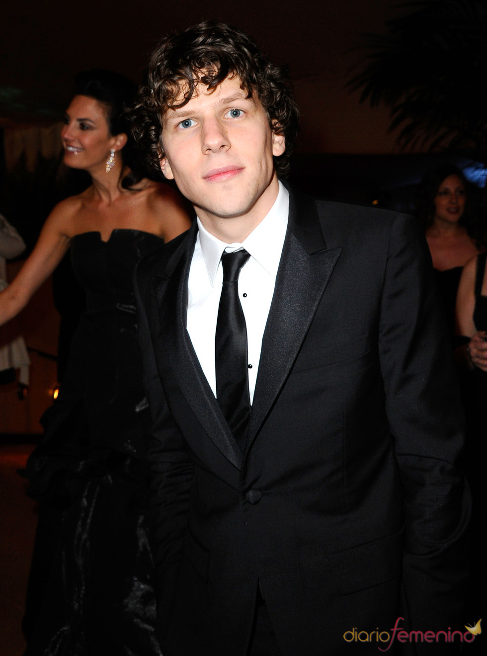 Jesse Eisenberg en la cena Governor's Ball post Oscars 2011