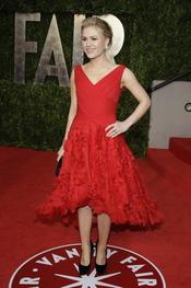 Anna Paquin en la fiesta Vanity Fair de los Oscar 2011