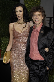 Mick Jagger en la fiesta Vanity Fair de los Oscar 2011