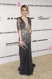 Emma Roberts en la Gala de Elton John
