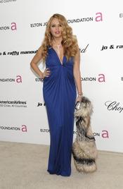 Paulina Rubio en la Gala de Elton John