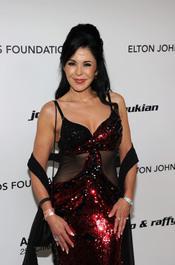 María Conchita Alonso en la Gala de Elton John