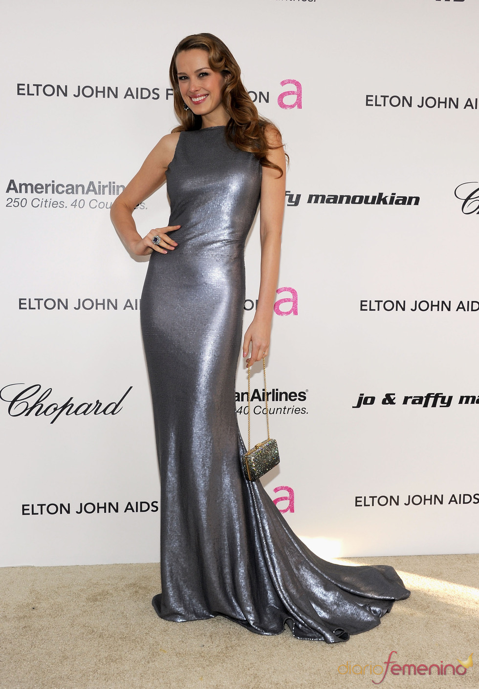 Petra Nemcova en la Gala de Elton John