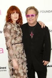 Elton John y Florence Welch en la Gala Elton John