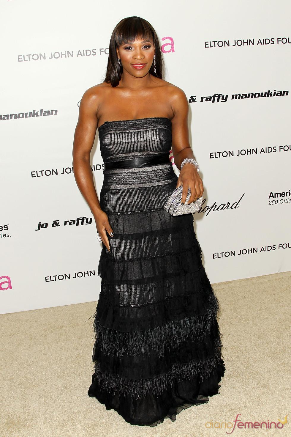 Serena Williams en la Gala Elton John