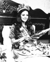 La fallecida Amparo Muñoz, Miss Universo en 1974