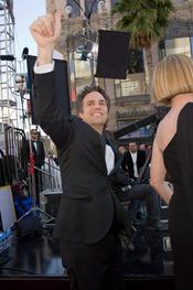 Mark Ruffalo en la alfombra roja de los Oscars 2011