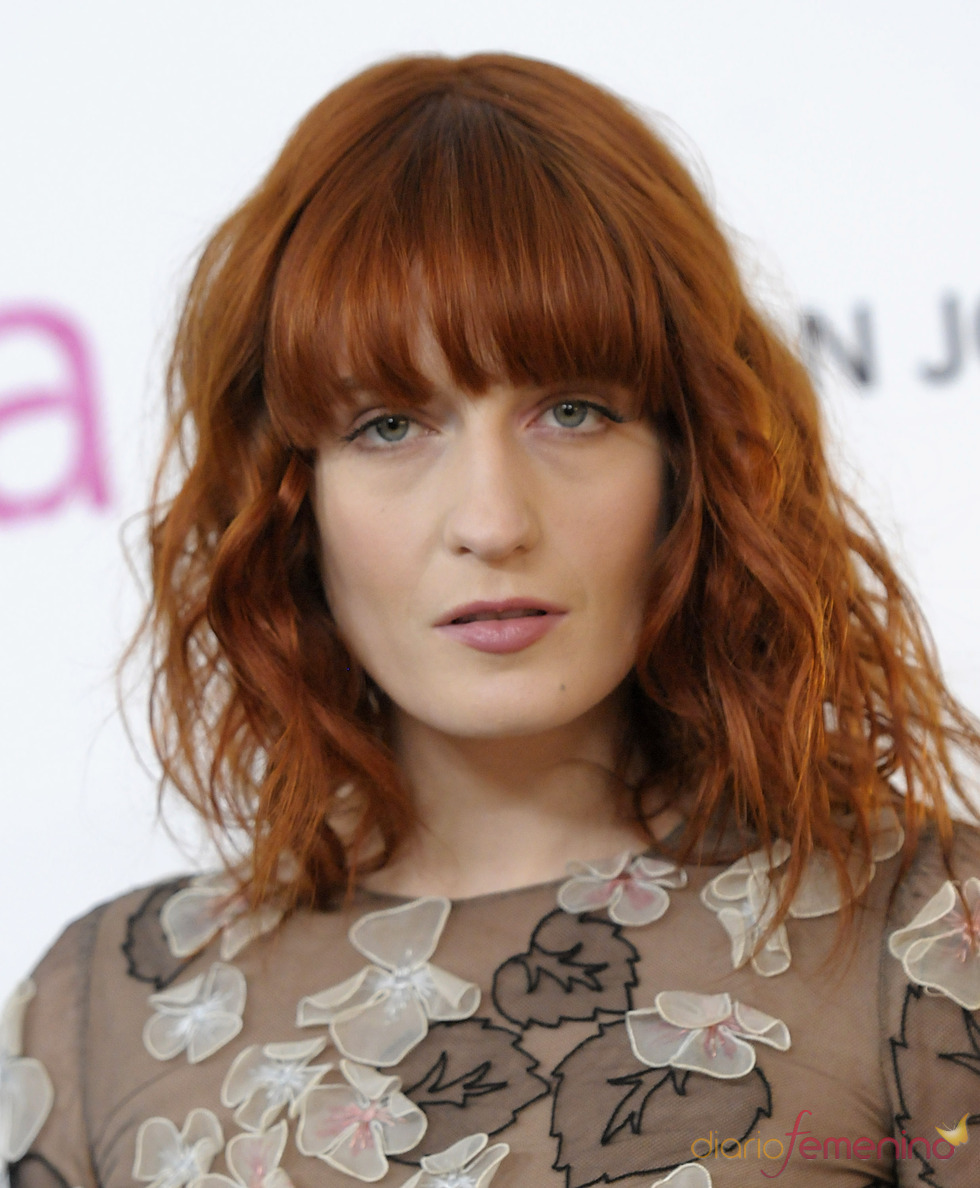 Florence Welch, la cantante de Florence and the Machine