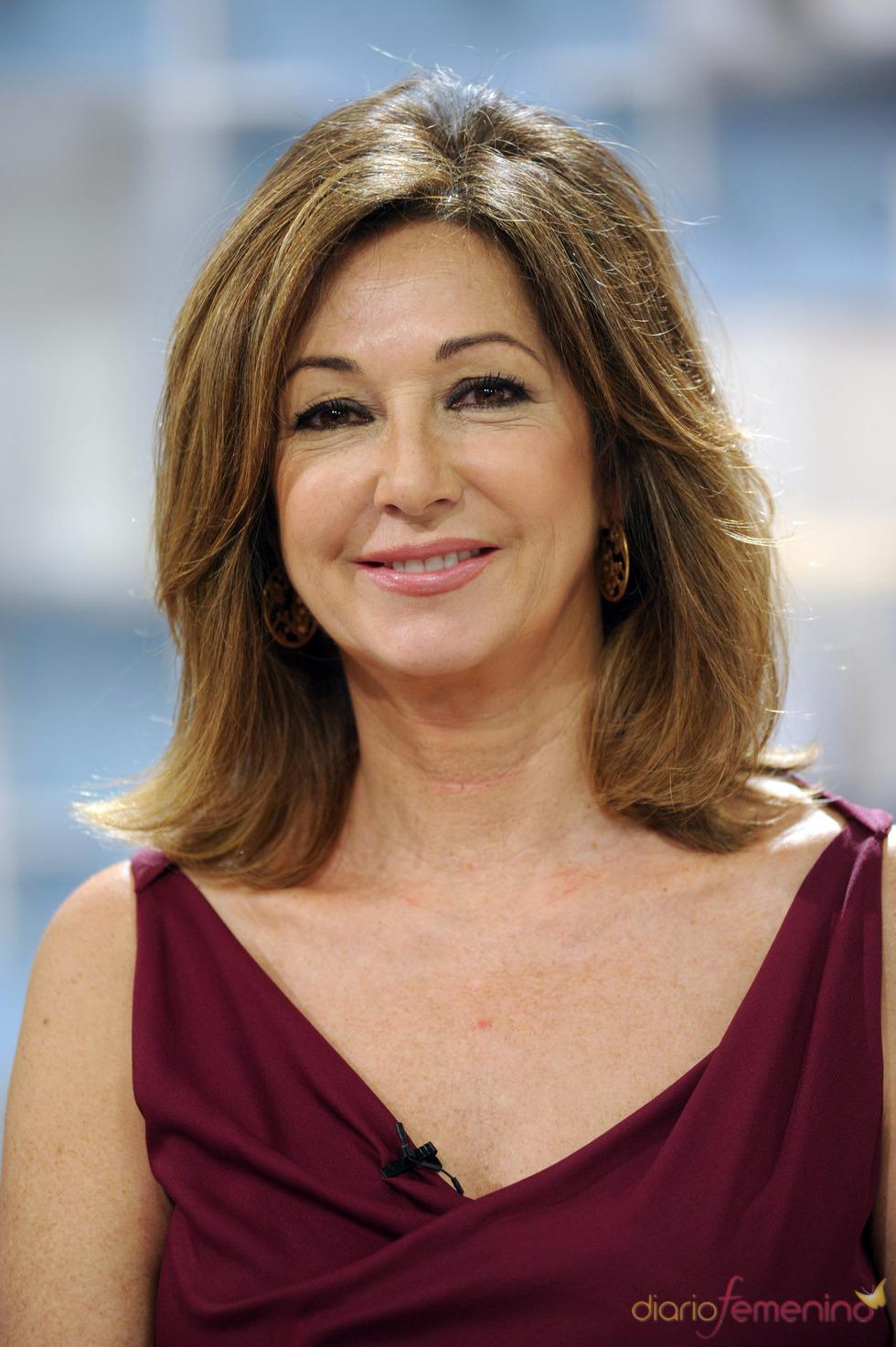 Ana Rosa durante la celebración de los 1500 programas