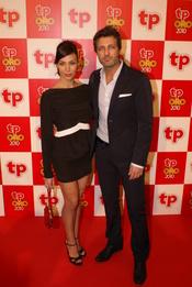 Nerea Garmendia y Jesús Olmedo en los Premios TP de Oro