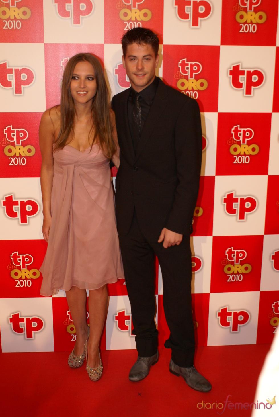 Ana Fernández y Luis Fernández en los Premios TP de Oro 2010