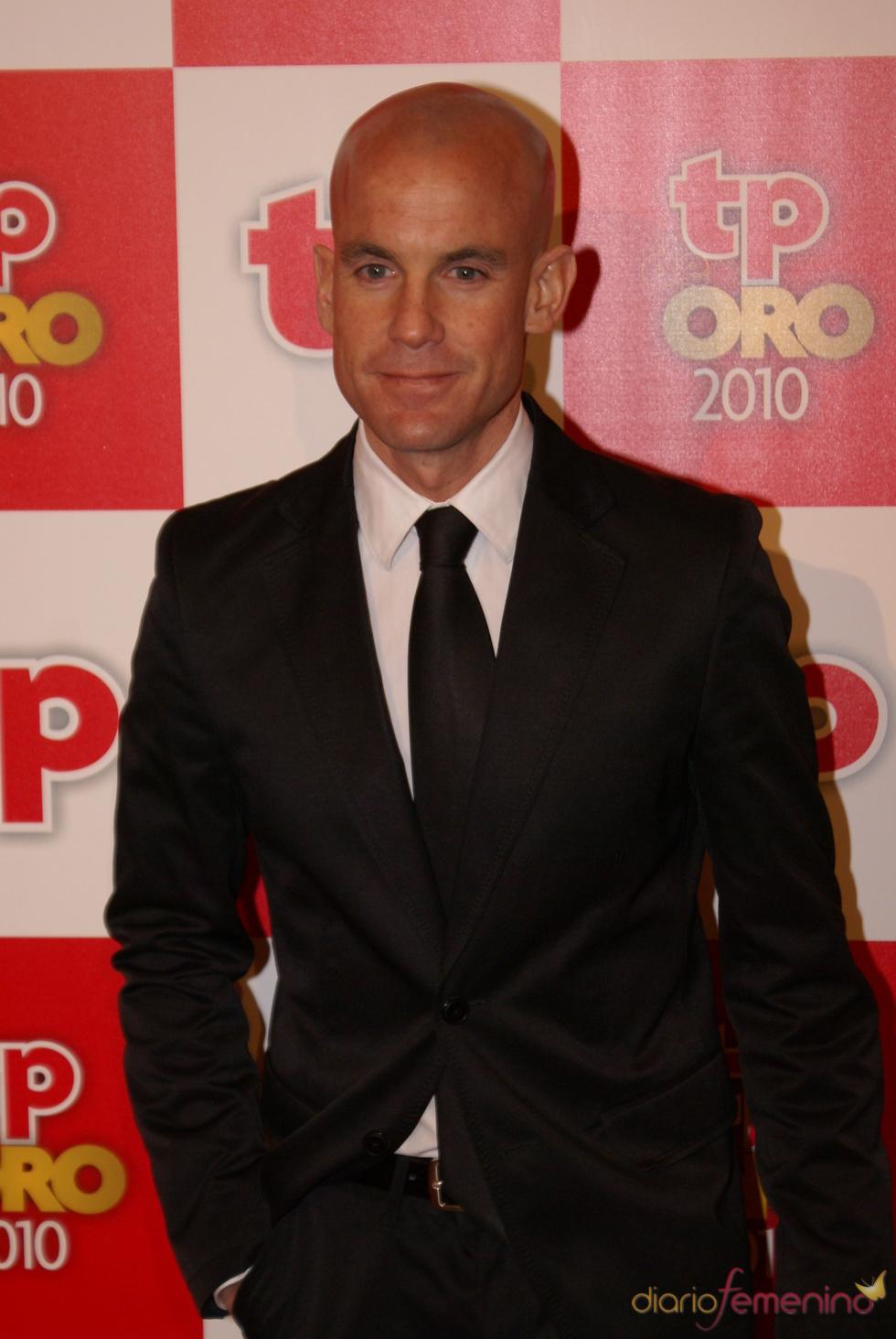 Ramón Fuentes en los Premios TP de Oro 2010