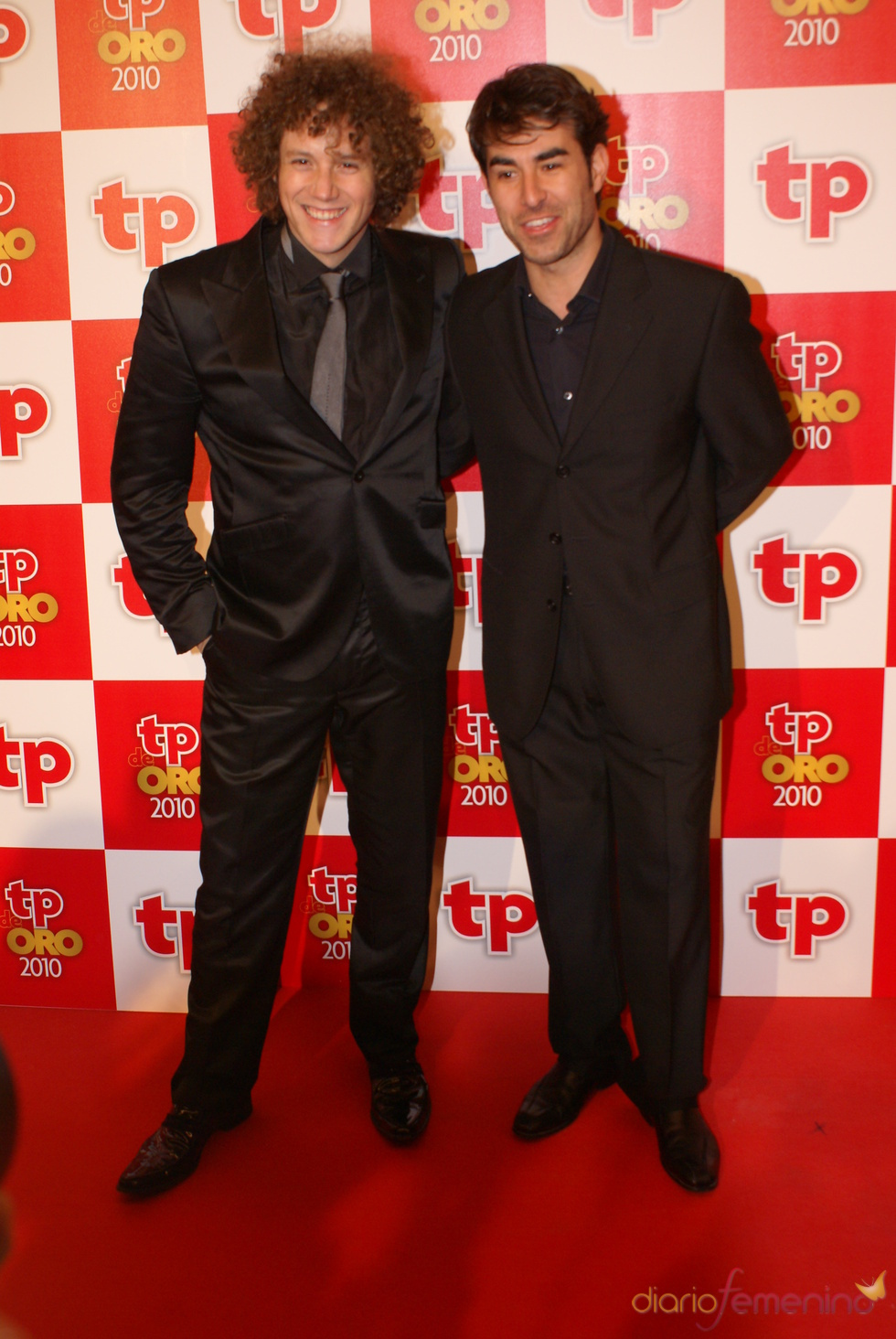 Daniel Diges y Daniel Muriel en los TP de Oro 2010