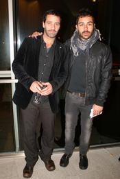 David Seijo y Juan Pablo Shuk en el cóctel de los Premios TP de Oro 2010