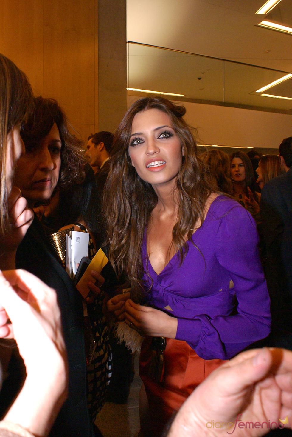 Sara Carbonero en el cóctel de los Premios TP de Oro 2010