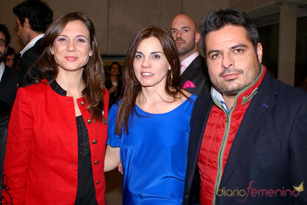 El equipo de 'Callejeros' en el cóctel de los Premios TP de Oro 2010