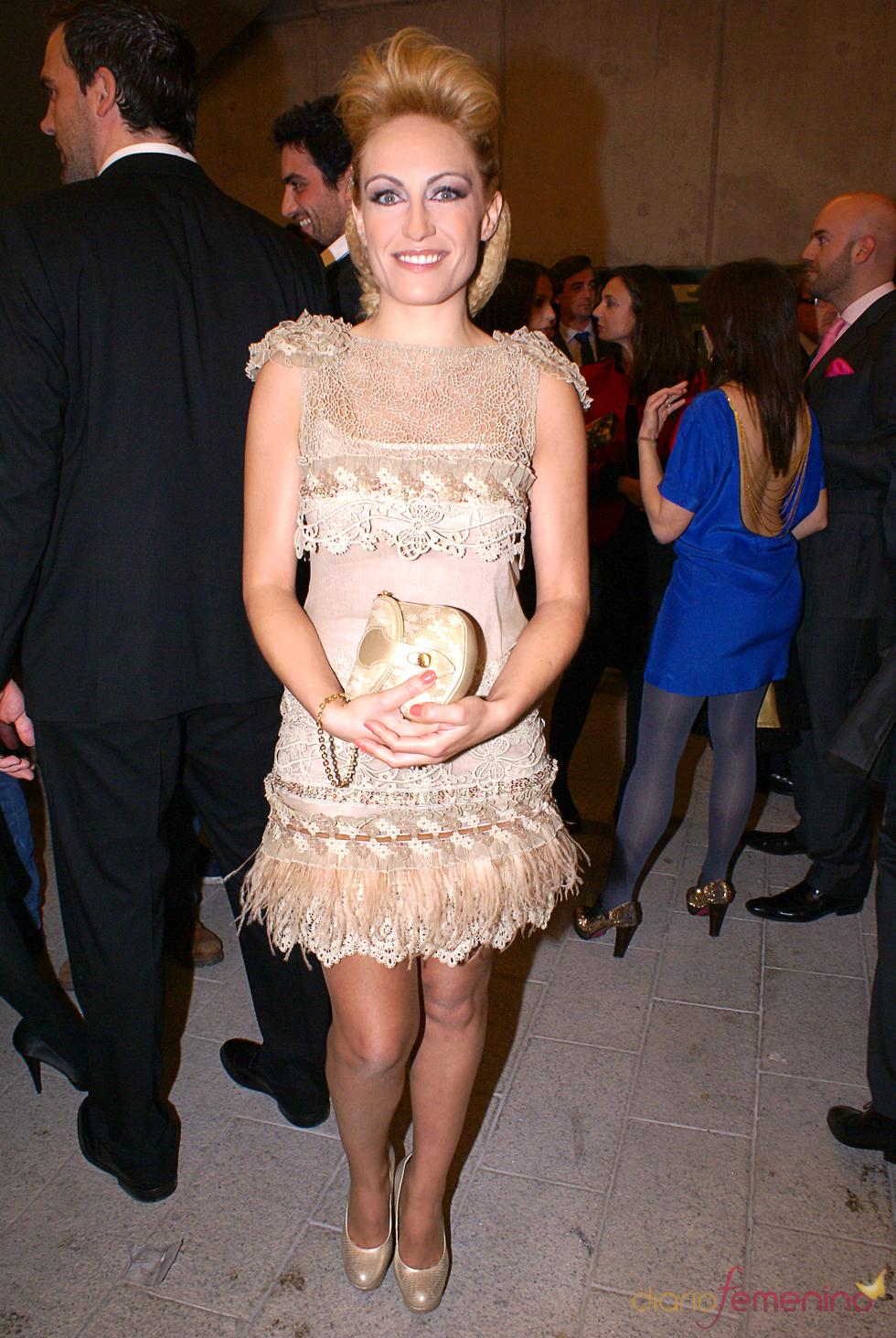 Luján Argüelles en el cóctel de los Premios TP de Oro 2010