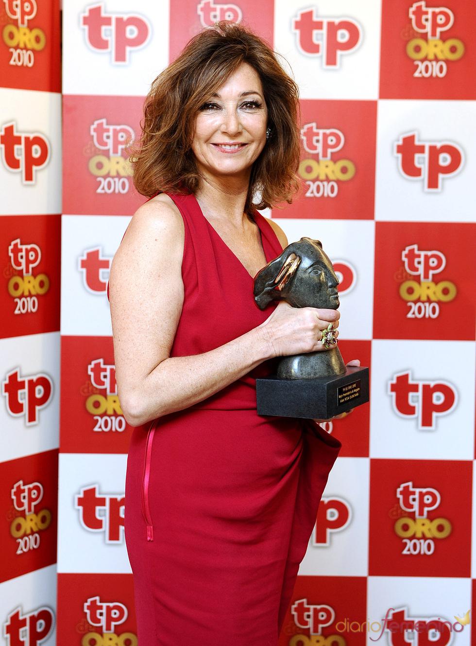 Ana Rosa Quintana, Premio TP de Oro 2010 como 'Mejor presentadora de magazine'