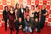 Los protagonistas de 'Amar en tiempos revueltos' en los Premios TP