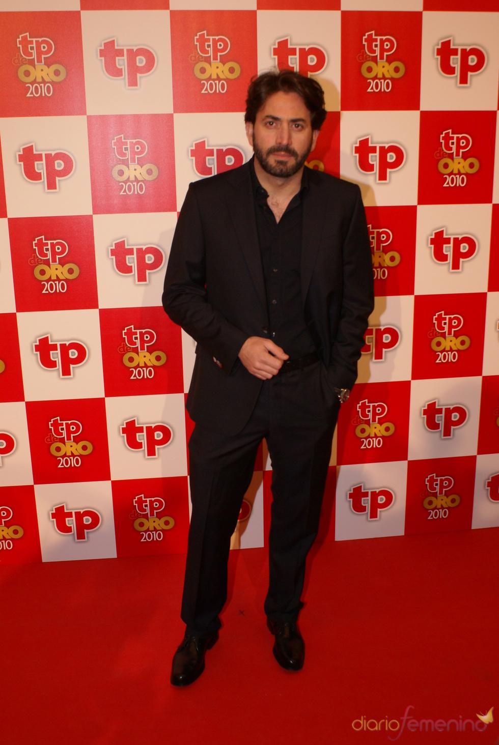 Antonio Garrido, de 'Los Protegidos', en los TP de Oro 2010