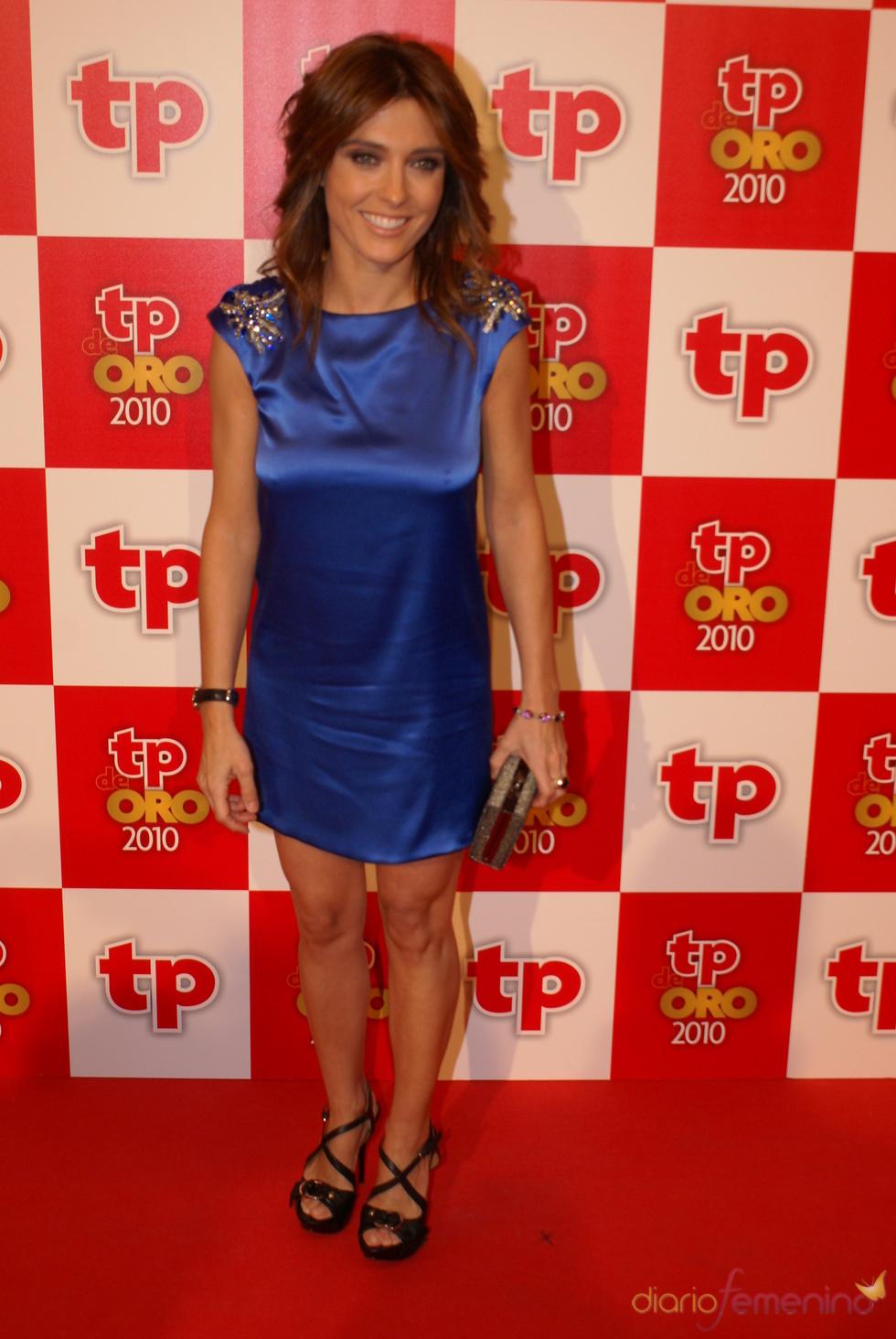 Helena Resano, presentadora de 'La Sexta noticias', en los TP de Oro 2010