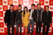Reparto de 'El Barco' en los Premios TP de Oro 2010