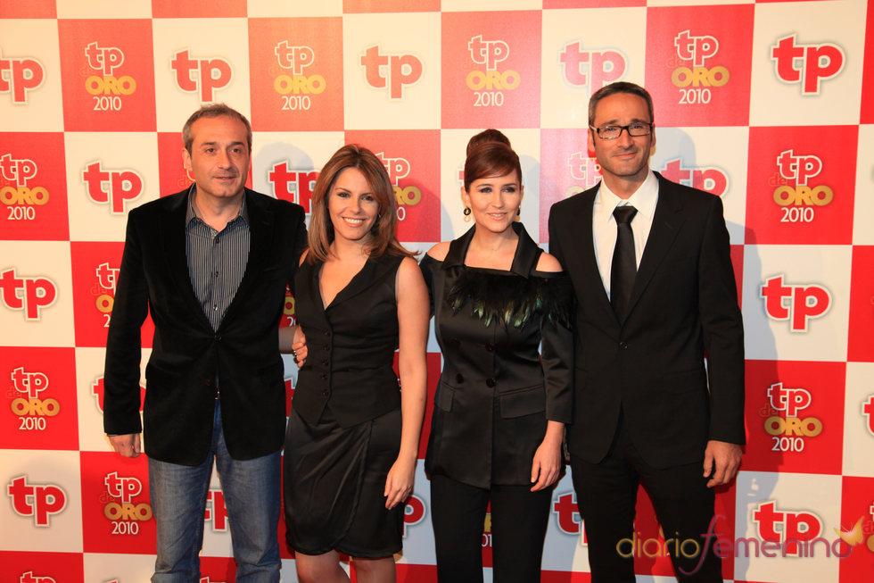 Equipo de 'España directo' en los TP de Oro 2010