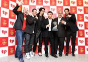 El equipo de 'El Hormiguero' presume de TP de Oro 2010