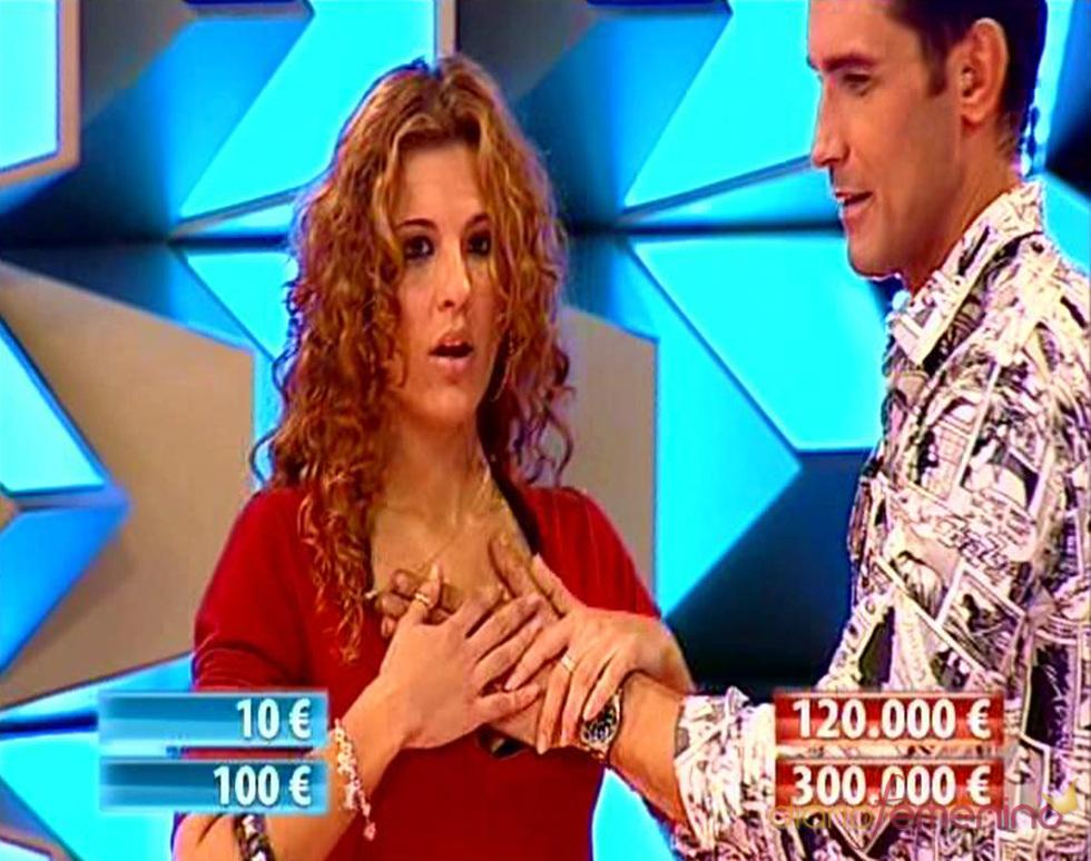 La hermana de Mario Casas, Sheila, muy nerviosa en '¡Allá tú!'