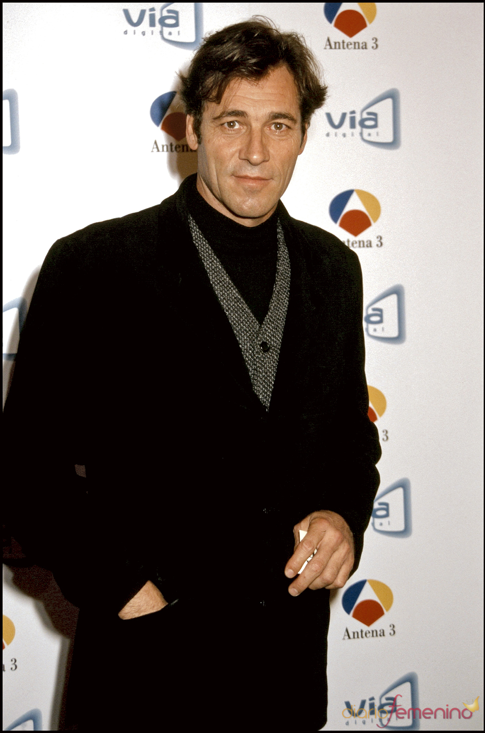 El actor José Conde en 2001