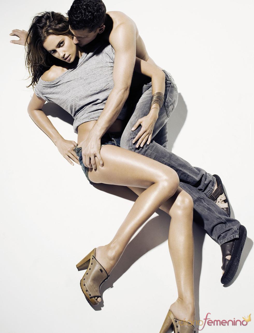 Irina Shayk y Arthur Sales posan muy sexys