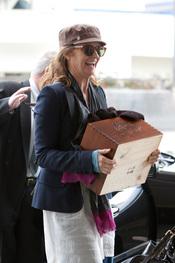 Melissa Leo no se separa de su Oscar 2011 como 'Mejor actriz de reparto'