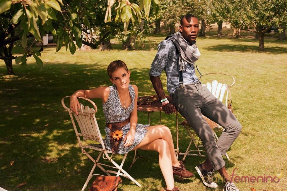 Emma Watson presenta su tercera colección para 'People Tree'