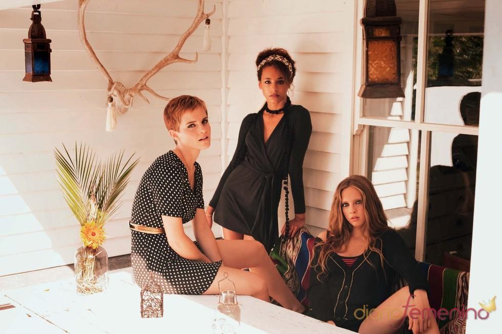 Emma Watson posa con la colección primavera/verano 2011