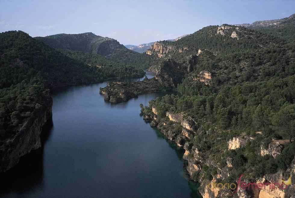 Paisaje de Almonacid de Zorita, en La Alcarria