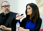Álex de la Iglesia y Salma Hayek trabajan en 'La chispa de la vida'
