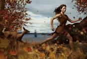 Jessica Biel se convierte en Pocahontas