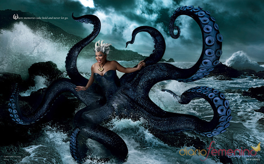 ursula Queen disney as latifah