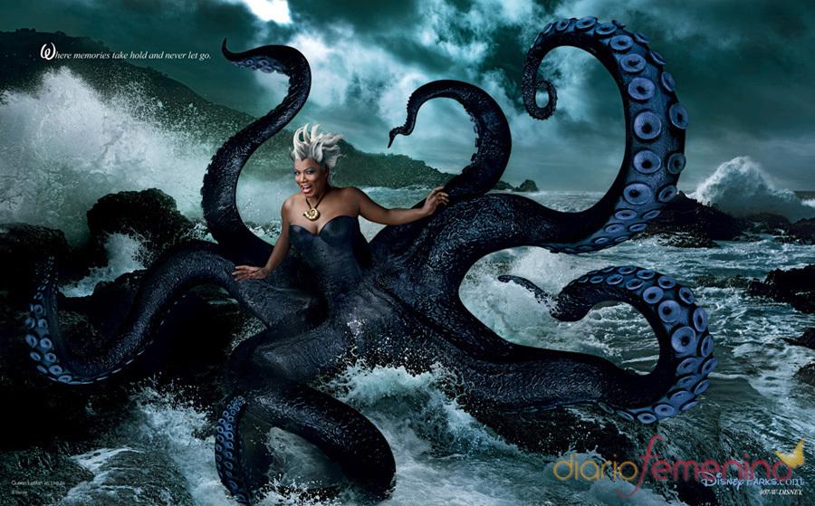 Queen Latifah es Úrsula, la bruja de mar de 'La sirenita'