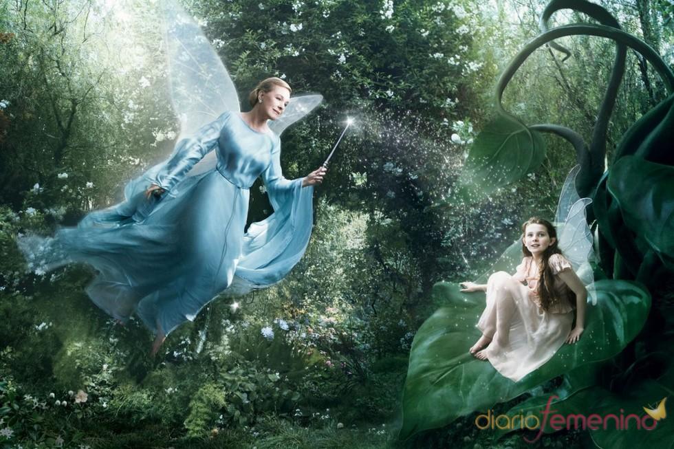 Julie Andrews y Abigail Breslin son las hadas de 'Pinocho'