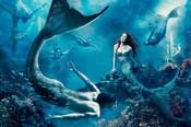 Julianne Moore se ha transformado en 'La sirenita'