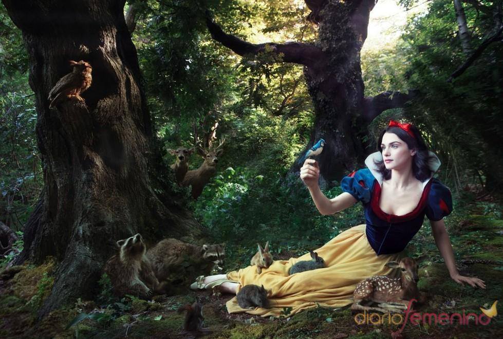 Rachel Weisz se convierte en Blancanieves