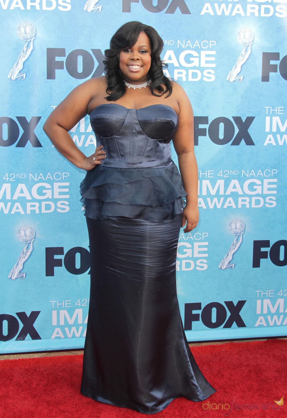 Amber Riley en los premios Imagen 2011