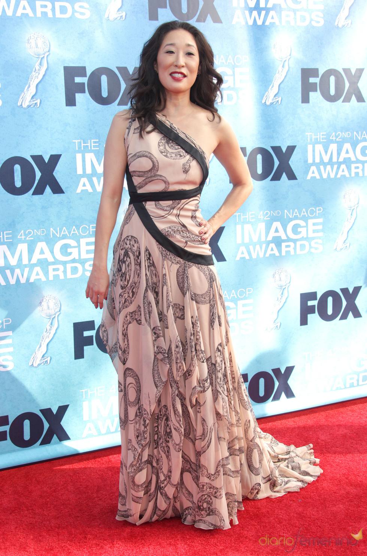 Sandra Oh en los premios Imagen 2011