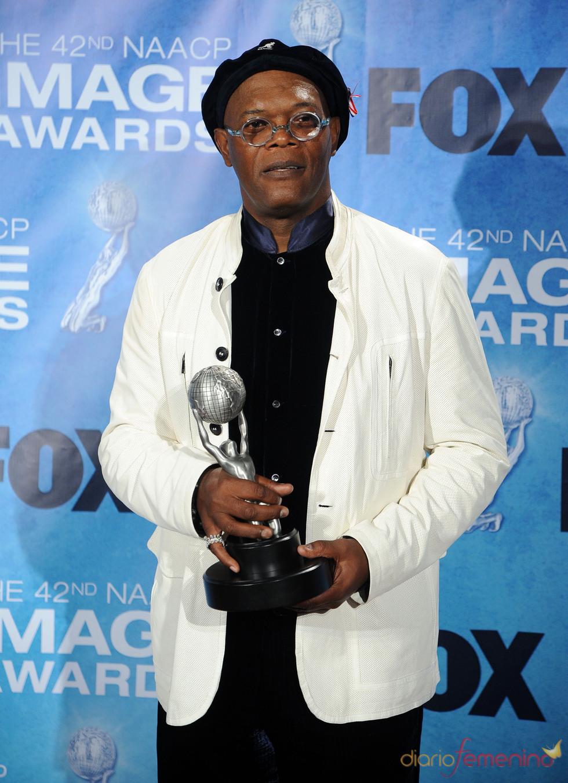 Samuel L. Jackson en los premios Imagen 2011
