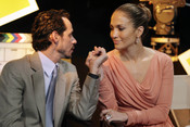 Jennifer Lopez y Marc Anthony hacen manitas