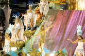 Giselle Bundchen en los Carnavales de Río de Janeiro
