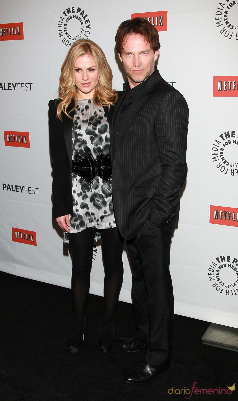 Stephen Moyer y Anna Paquin presentan la cuarta temporada de 'True Blood'