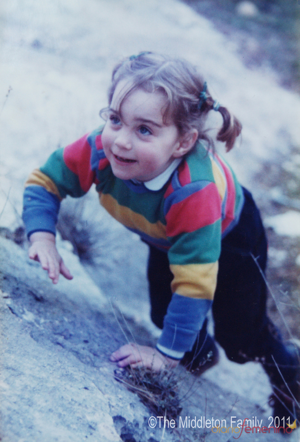 Foto de Kate Middleton de 1986